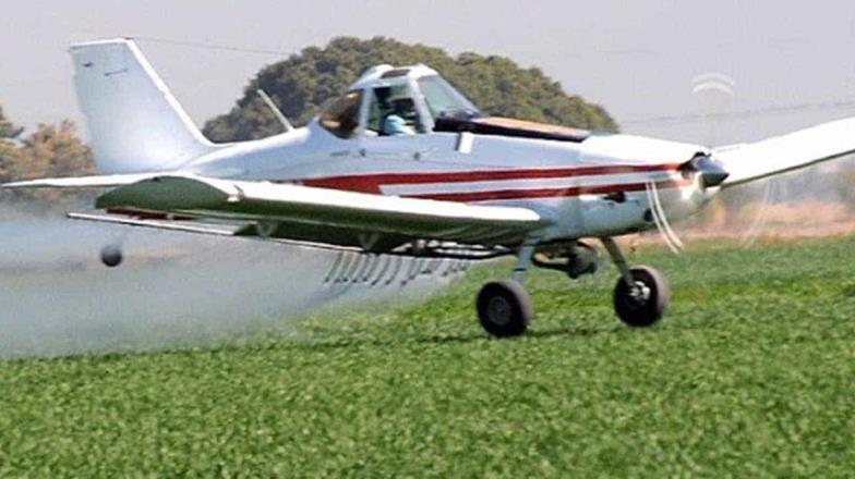 Sequía pega a aerofumigadores